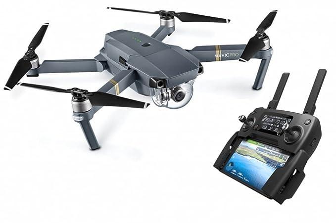 DJI Mavic Pro - Dron cuadricoptero (4 k/30 fps, 12mpx, 65 km/h, 27 ...