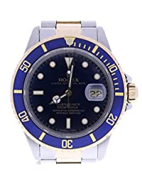 Rolex Submariner automatic-self-wind mens Watch 16803 (Certified Pre-owned)