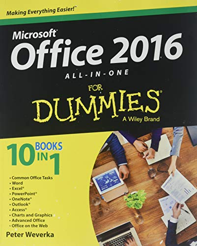 Office 2016 All-In-One For Dummies ()