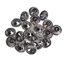20pcs Crystal Diamante 25mm Sew on Button Upholstery Headboard Sofa DIY Decoration