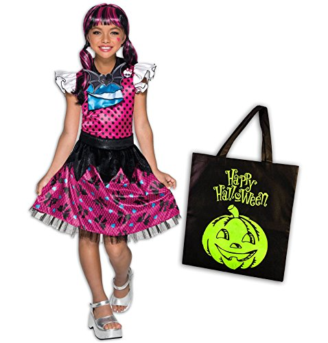 Monster High Draculaura Deluxe Child Costume Kit - S(4/6)