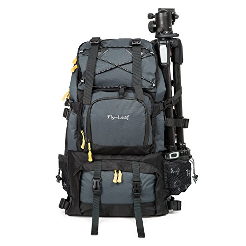 G-raphy Camera Backpack Bag Hiking Travel Backpack for all DSLR SLR Cameras , Laptops , Tripods and Accessories by G-raphy