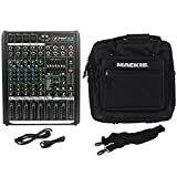 Mackie PROFX8v2 Pro 8 Channel Mixer with Effects and Travel Bag...