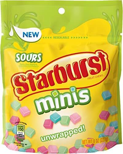 Gummy Candies: Starburst Minis Sours