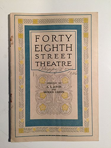 Forty Eighth Street Theatre, East Of Broadway
