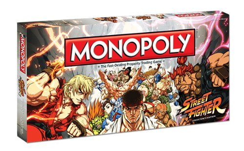 Street Fighter Monopoly Collectors Edition