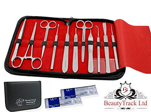 James 1008 Student High Quality Dissection Kit Dr Pack of 14 Stainless Steel