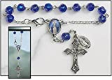 Our Lady of Grace Rearview Mirror Rosary - 12/pk