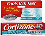 Cortizone-10 Cooling Relief Anti-Itch Gel 1 oz (Pack of 9)