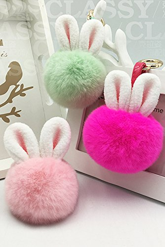 Price comparison product image Generic Fundamental_to rabbit_~_rabbit_plush_ball_hanging_Ornaments _rabbit_plush_package_mounted_in rabbit_ earrings _on dead_rabbit_ gift _box
