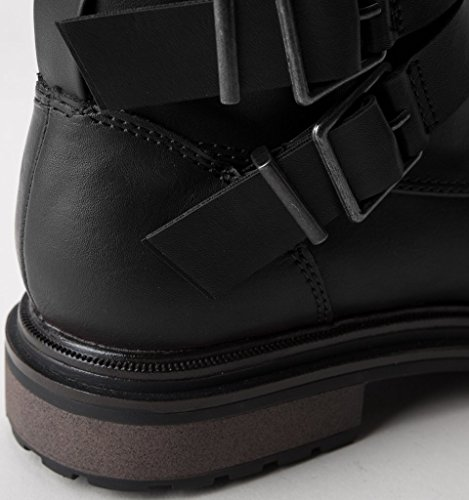 Black Rocket Lacey Boots Biker Dog Black Women's zzqgT0