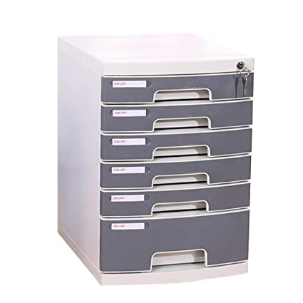 Pleasant File Cabinet A4 Desktop Six Layer Lock Plastic Drawer Type Download Free Architecture Designs Rallybritishbridgeorg