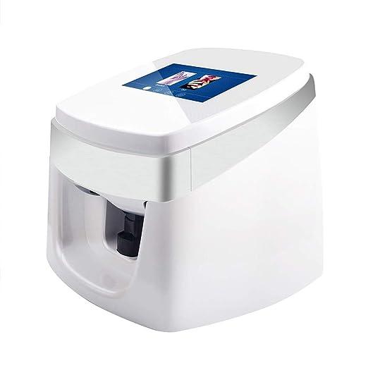 Oito Impresoras de uñas 3D Máquina Nail Art Impresora ...