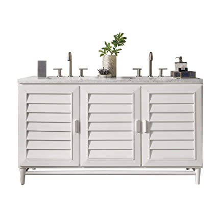 Amazon Com James Martin Furniture Portland 60 Double Vanity