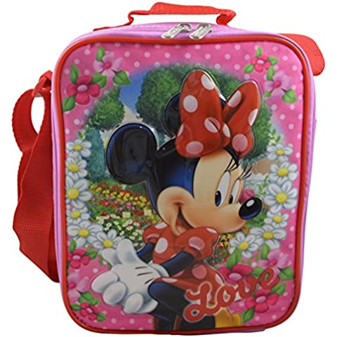 Disney Minnie Mouse Deluxe 3D Design-Insulated Lunchbox Lunch Kit