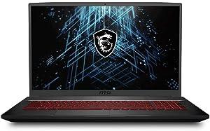 CUK GF75 Thin by MSI 17 Inch Gaming Laptop (Intel Core i7, 32GB RAM, 512GB NVMe SSD, NVIDIA GeForce RTX 3060 6GB, 17.3