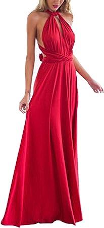 Único Diseño:Vestido tiene multi-manera de usar en 2 correas largas.El diseño único va a responderle