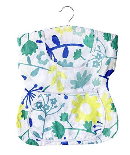 WENKO 3714010100 Wäscheklammer-Kleid, 100 % Baumwolle, 33 x 37 x 1 cm, Mehrfarbig