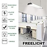 Freelicht 1 Pack LED Utility Shop Light, Linkable