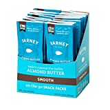 Barney Butter Almond Butter Snack Packs, Smooth, 0.6 oz, (pack of 24)