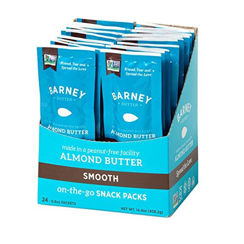 Barney Butter Almond Butter Snack Packs, Smooth, 0.6 oz