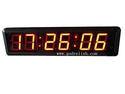 "Godrelish 1,8 pulgadas LED Reloj Digital Grande 1,8 ""de alta"