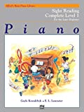 Alfred's Basic Piano Library Sight Reading Book