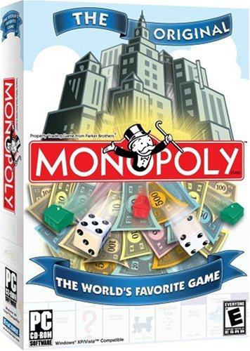 Monopoly 2008 [Old Version] (10 Best Computer Games)