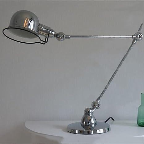 Merveilleux AINIOO Vintage Desk Lamp, Led Dimmable Swing Arm Bedside Metal Office  Simple Desktop Lamps