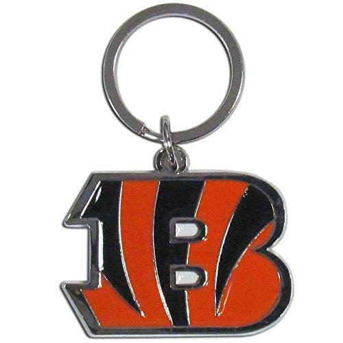Bengals Key (NFL Cincinnati Bengals Enameled Chrome Key Chain)