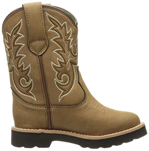 Deere Chi Pull Tan on Kids' Boot John PO 14xvnvz