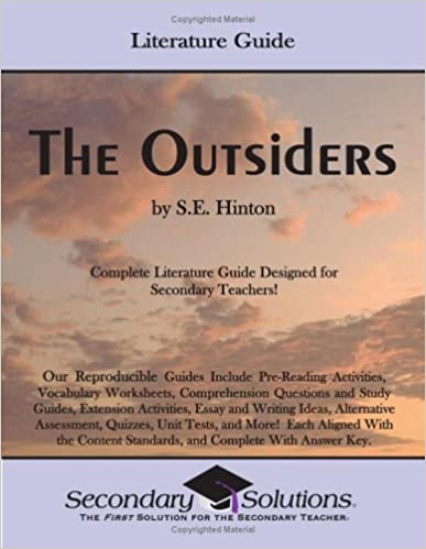 Literature Guide The Outsiders Kristen Bowers 9780976817741