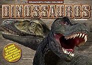 Dinossauros: Prancheta Para Colorir - Supersérie