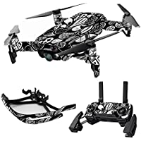 MightySkins Skin for DJI Mavic Air Drone - Drops | Max Combo Protective, Durable, and Unique Vinyl Decal wrap cover | Easy To Apply, Remove, and Change Styles | Made in the USA