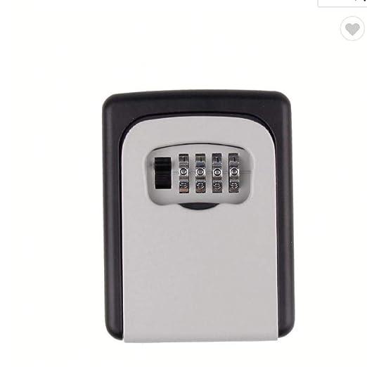 Ssiyun Caja De Seguridad Portátil para Vehículos, Caja De ...