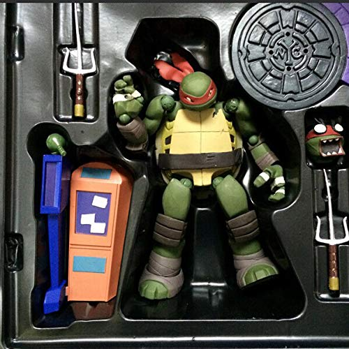 JXMODEL Teenage Mutant Ninja Turtles Boy Toys Raphael Figure ...