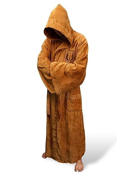 Star Wars Jedi-bata de polar para hombre albornoz: Amazon.es: Ropa y accesorios