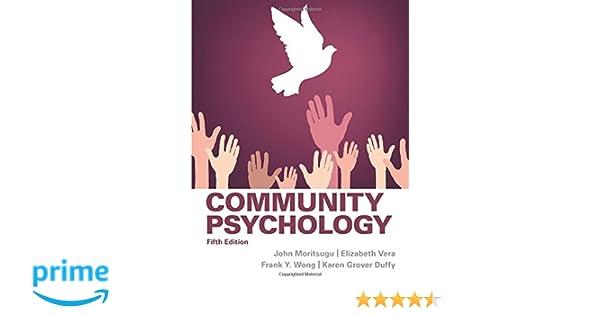 community psychology 5th edition moritsugu