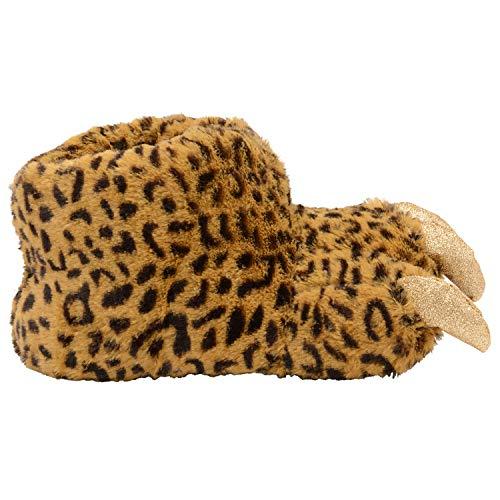 Bruno 3d Comodo Galli Stringato Leopardo Adulti Morbido Gadget Scarpe Pantofole Animale rrxqTdw0