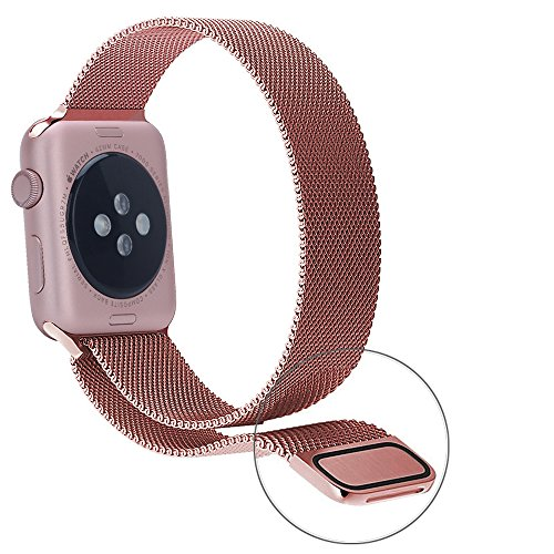 orobay apple watch band 38mm 42mm stainless steel