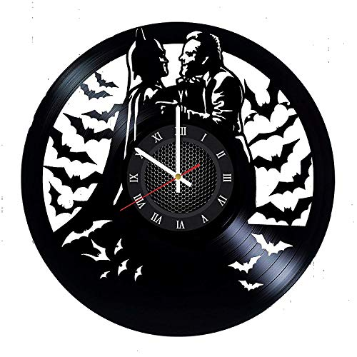 Joker Batman Vinyl Record Wall Clock Gift for