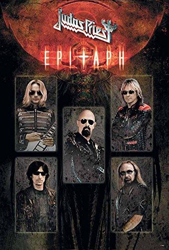 Judas Priest English Heavy Metal Band Music Poster Size 24x35 Inch J-4859