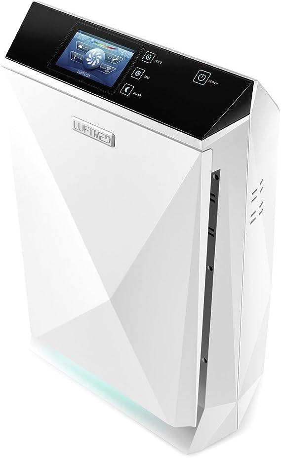 Purificador de aire Luftmed D300, filtro + ionizador sin ozono ...