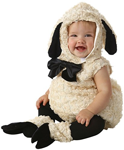 Princess Paradise Baby Vintage Lamb Deluxe Costume, As Shown, 6 to 12 Months ()