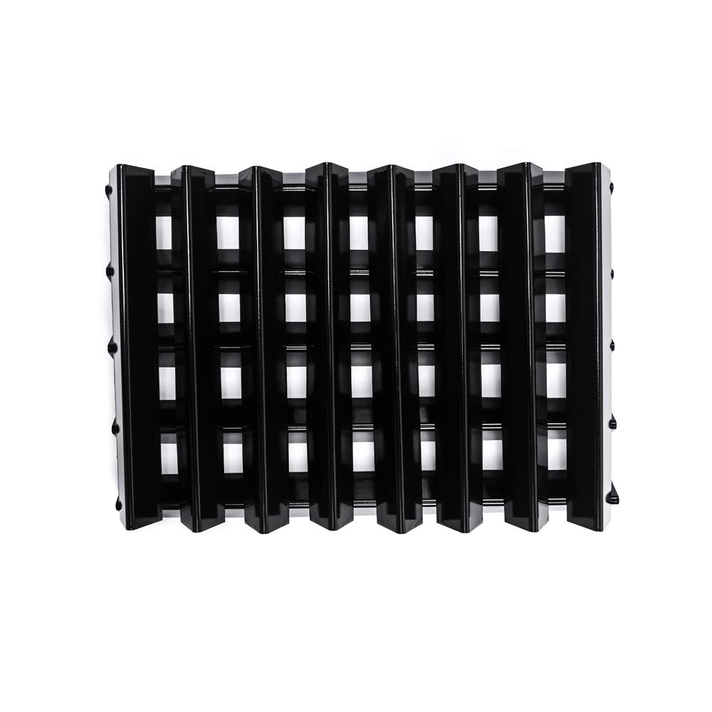 Htanch PN813(13-Pack) Porcelain Cast Iron Flavorizer Bars Replacement for Weber Genesis 1000-5500 and Platinum I and II Series Gas Grills