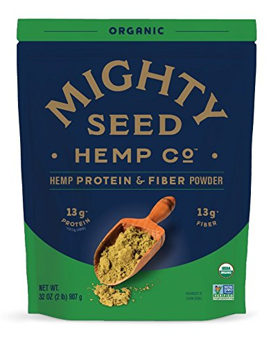 Mighty Seed Hemp Organic Protein & Fiber Powder, 32 Ounce