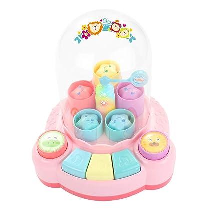 Toyvian Baby Piano Pop Up, Piano para niños pequeños ...