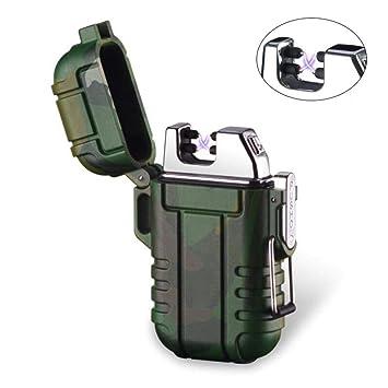 Wiber Encendedor de Arco Dual sin Llama, portátil, Resistente al Viento, Resistente al