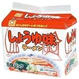 マルちゃん しょうゆ味ラーメン 袋 5食パック×6個