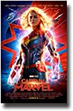 Captain Marvel Poster Movie Promo 11 x 17 inches Main